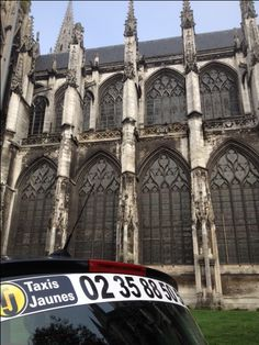 Rouen transport taxi
