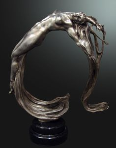 M.L. Snowden - Lightwave Bronze Sculpture