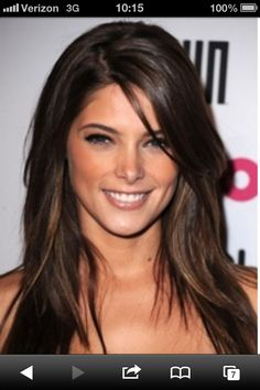 @Chrissy L L Clemons Newton  hair color - DONT like stripy highlights!!! more of an all over dark.