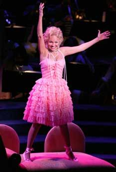 Kristin Chenoweth in Candide. It's a pity people only know her from Wicked. She's wonderful and one of the few actresses that can hold her own against Patti LuPone.