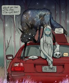 chiara bautista wolf | e926 anthro canine car chiara_bautista dark detailed_background ...