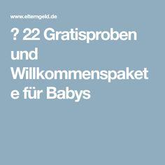 ᐅ 22 Gratisproben und Willkommenspakete für Babys