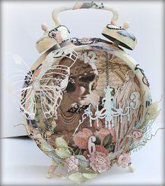 Graphic 45 Le Romantique Altered Clock by Miranda Edney