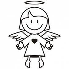 Bildergebnis für comic engel silhouette