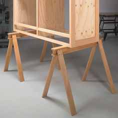 Strong & Sturdy Sawhorses