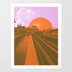 TRANSPORT #3 Art Print