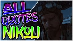 DER EISENDRACHE: Nikolai Belinski ALL QUOTES - Black Ops 3 (BO3 Der Eise...