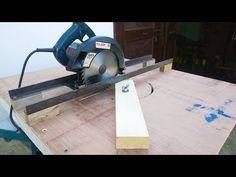 circular saw track for cutting - YouTube