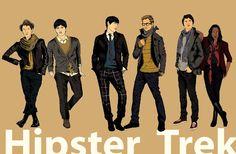 Hipster Trek.
