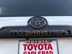 "Give your 2010-2020 4Runner a custom look with these premium cast vinyl decals.    Made from ultra-thin, ultra-durable premium cast Oracal 951 and 751 vinyl film 12+ years durability rated vinyl (matte black) Provides a ""painted-on"" look Individual letter decals can be applied to the face of the letters on your liftgate and C-pillars Lifetime Warranty against cracking, peeling, and shrinking Normally ships within one business day! 2010 4runner, 1st Gen 4runner, 2017 Toyota 4runner, Toyota 4runner Trd, Tacoma Trd, Letter Decals, Vinyl Decals, Letters, Toyota Emblem"