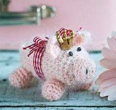 Småt er også godt, og denne gris vil være sød, flyvende i en snor.