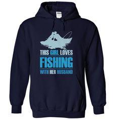 Fishing Hoodie - Love Fishing - with Saying