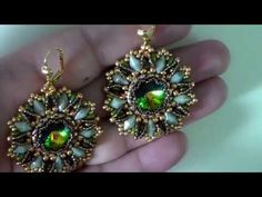 Tutorial orecchini Rainbow collaborazione con Perlinebijoux - YouTube