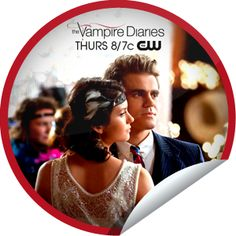 The Vampire Diaries: Do Not Go Gentle...Want to travel to the roarin' 20's with Stafan and Elena? Check-in to GetGlue.com for this swingin' sticker.
