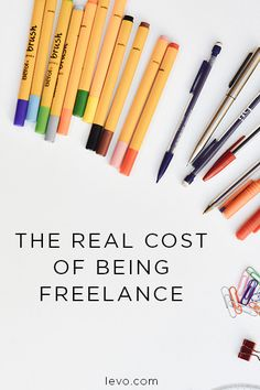 The secrets of freelance life. www.levo.com