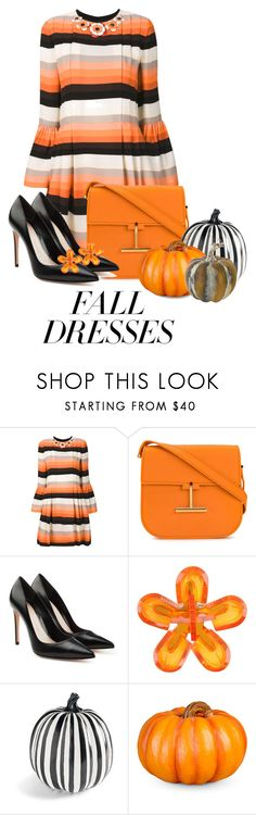 """""""Falling For Stripes"""" by shamrockclover ❤ liked on Polyvore featuring Fendi, Tom Ford, Alexander McQueen, Dsquared2, Grandin Road and Improvements"""