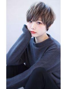マリア(Maria by afloat)【畑中正敏】厚めバング×マーメイドアッシュショートボブ