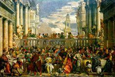 Las Bodas de Caná. Paolo Caliari. Nuevo Testamento.