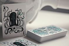 Fathom Playing Cards by Ellusionist... (a water themed deck)...