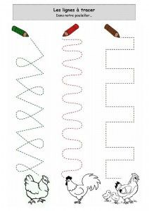 hen trace worksheet