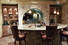 Stylish Home Bar Ideas http://www.brownandbrownconstruction.com/