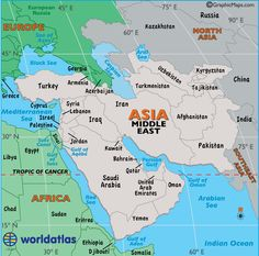 the middle east southwest asia is a populated region in the world it is very unique