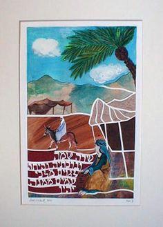 Matriarch Sarah | Judaic Art Studio
