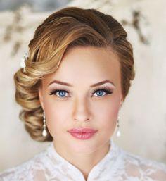 Cвадебные прически на короткие волосы - фото 100 лучших работ свадебных стилистов