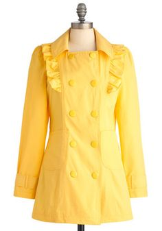 When Life Gives You Rain Coat, #ModCloth