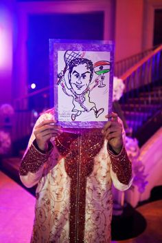 Add a bit of creativity and your personal touch to fun filled wedding! | Image courtesy of Alison Mayfield Photography Discover more south asian wedding inspiration www.shaadibelles.com #indian #southasian #wedding