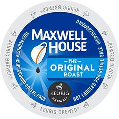 Maxwell House Original Roast Coffee, 24 Count ** Additional details at the pin image, click it  : K Cups