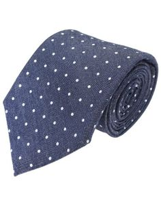 FLATSEVEN Mens Designer Denim White Polka Dots Neck Tie (YA008) DarkBlue FLATSEVEN http://www.amazon.com/dp/B00KRBMYGU/ref=cm_sw_r_pi_dp_6j2Yub1MTF1CE #Neck Tie #FLATSEVEN #men #fashion #mens fashion