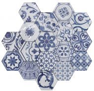 #Exadeco #Tonalite #Exabright #Tiles #Piastrelle #Carreaux #Azulejos #Hexagonal #Decorated #Texture #Wall Tiles #Floor Tiles #Backsplash #Kitchen #Bathroom