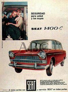 Anuncio Seat 1400 C | < 3,0´~ kenne https://de.pinterest.com/lovejoy58uk/vintage-car-ads-board-2/