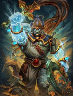 SMITE Osiris by Brolo.deviantart.com on @DeviantArt