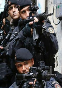 Men in Black : Brazilian BOPE