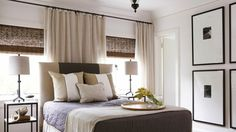 Create just the right amount of drama by installing drapes high above windows with woven woods! Call Budget Blinds today to see our 'Inspired Drapes' collection!