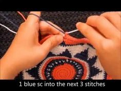 How to Crochet a Wayuu-Style Base, a 4-part video tutorial brought to you by AllTapestryCrochet.com. Learn how to crochet a base/bottom for a Wayuu mochila, step by step, using tapestry crochet techniques. It's in English!