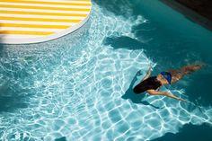 the pool at La Banane, St Barths