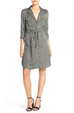 French Connection Woven Shirtdress available at #Nordstrom
