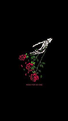 Black Phone Wallpaper, Skull Wallpaper, Rose Wallpaper, Tumblr Wallpaper, Cute Wallpaper Backgrounds, Cellphone Wallpaper, Cute Wallpapers, Graphic Wallpaper, Screen Wallpaper
