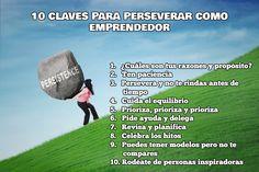 10 claves para perseverar como emprendedor