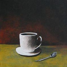 Ek en Johan het vir Suz miljoen koppies koffie moes maak.  Sy was verslaaf aan koffie en ONS moes dit maak  Ons het dit sommer van kraanwater gemaak en sy was dood tevrede daarmee