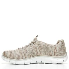 Skechers Women's Empire Game On Relaxed Fit Slip On Sneakers (Taupe) - 9.5 M