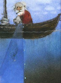 "Кирилл Челушкин «Сказка о рыбаке и рыбке»   ""Картинки и разговоры"""