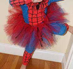 Super+hero+ballet+tutus | Spiderman / Spidergirl TuTu - Perfect for your Superhero Princess ...