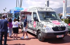 See exceptional food truck design and branding examples.