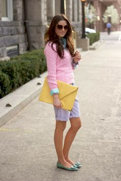 Pastel pink sweater-How to Wear Pink in Fall Fade Styles, Pretty Pastel, Pastel Pink, Mommy Style, Office Fashion, Casual Fall, Spring Summer Fashion, Dress To Impress, Cute Outfits