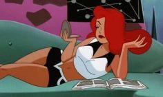 gif and poison ivy image Cartoon Cartoon, Cartoon Kunst, Redhead Cartoon Characters, Cartoon Drawings, Space Ghost, Jessica Rabbit, Cartoon Wallpaper, Animation, Cartoon Network