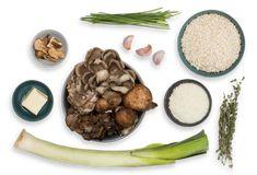 mixed mushroom risotto with porcini broth leek chives mixed mushroom ...